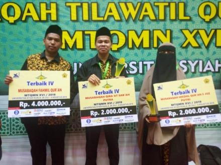 Mahasiswa Matematika Unand Raih Juara Dalam Mtqmn Xvi